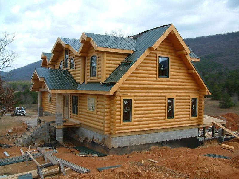 10 inch milled log home-TN