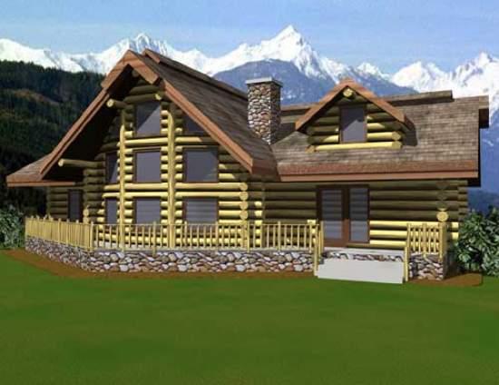 Rio Verde Luxury Log Home By Avalon Log Homes